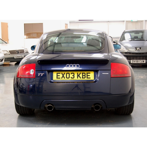 AUDI TT 1.8 T Quattro, 2 Doors, Manual, Coupe, Petrol, 2003