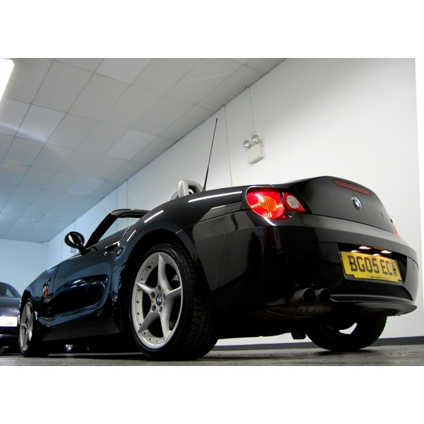 Bmw Z4 Convertible Black: BMW Z4 3.0i SE Sport Roadster 2dr, 2005 (05 Reg), Convertible
