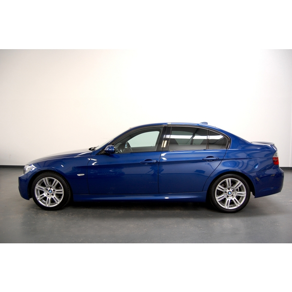 BMW 3 SERIES 320D M SPORT 4DR + FULL LEATHER + BLUETOOTH