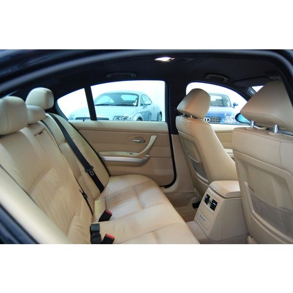 BMW 3 SERIES 330D M SPORT 4DR + CREAM LEATHER + SAT NAV, 4