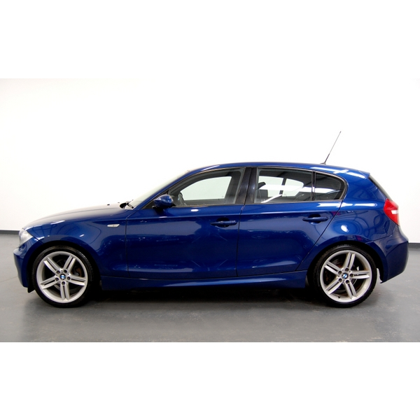 bmw 1 series 118d m sport 5dr bluetooth 5 doors manual hatchback diesel 2008. Black Bedroom Furniture Sets. Home Design Ideas