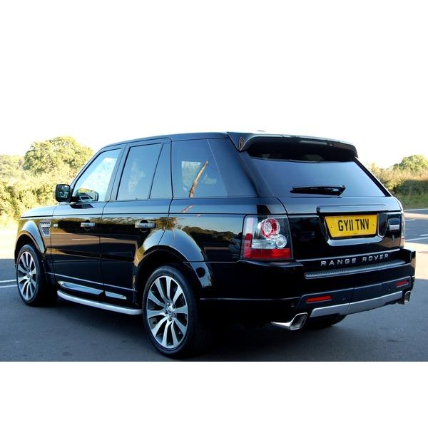 2011 Land Rover Range Rover Sport Exterior: Land Rover Range Rover Sport 5.0 V8 Autobiography Sport