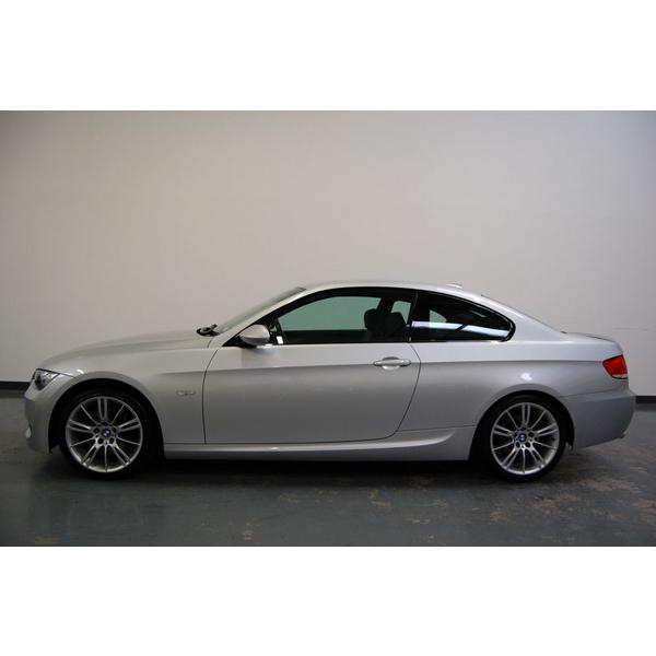 """BMW 3 Series 325i M Sport 2dr 2.5 + 18"""" MV3's + FULL BLACK"""