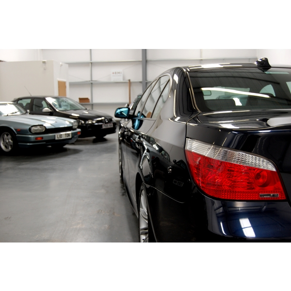 BMW 5 SERIES 530D M SPORT 4DR AUTO + NAV + LEATHER